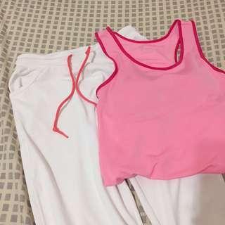 🚚 Lativ bra背心 與運動褲 s