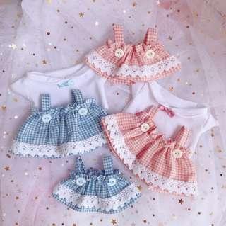 15cm / 20cm doll dress