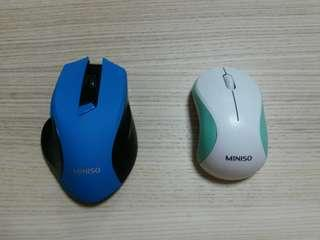 Two Wireless Mouses