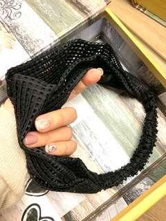 🚚 韓國購入 全新黑色髮帶