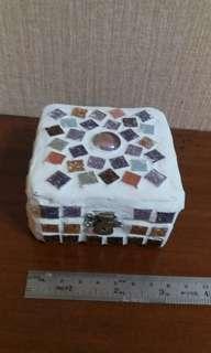 手工馬賽克木盒