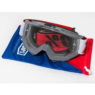 Brand New 100% Accuri Solberg Clear Lens Goggles