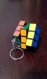 的色迷你扭計骰鎖匙扣
