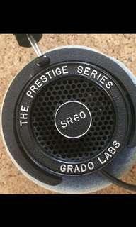 Grado SR60 - best entry level audiophile headphones