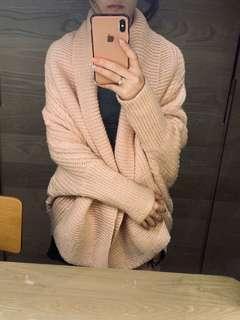 🚚 Forever21日本購入 粉色針織毛衣外套