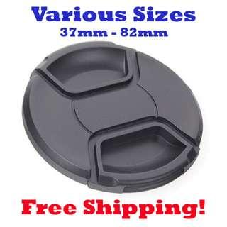 🚚 Camera Lens Cap Cover (Various sizes)