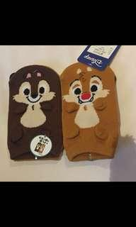 Chip n dale 襪 16-19cm 購自日本
