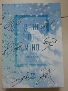 Signed album of Snuper 'Rain of Mind'
