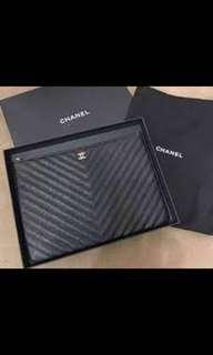 Chanel O case clutch 💯 % Authentic