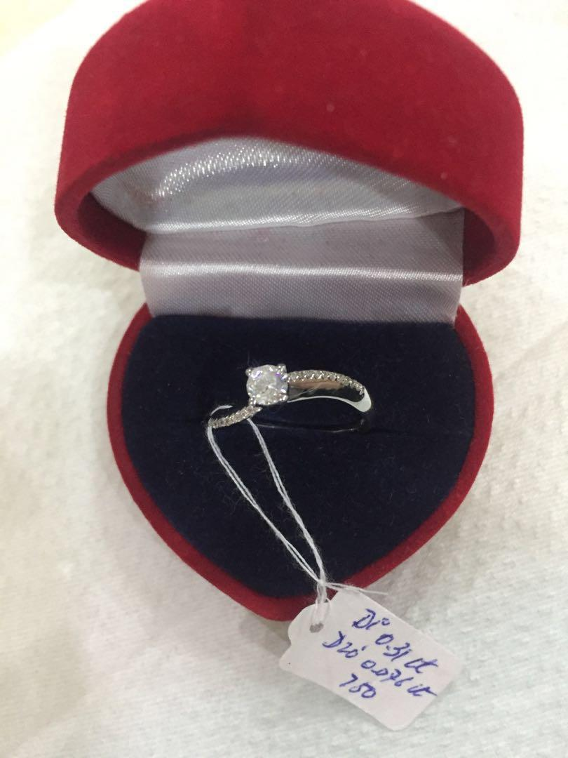 4 Claw Solitaire Diamond Ring