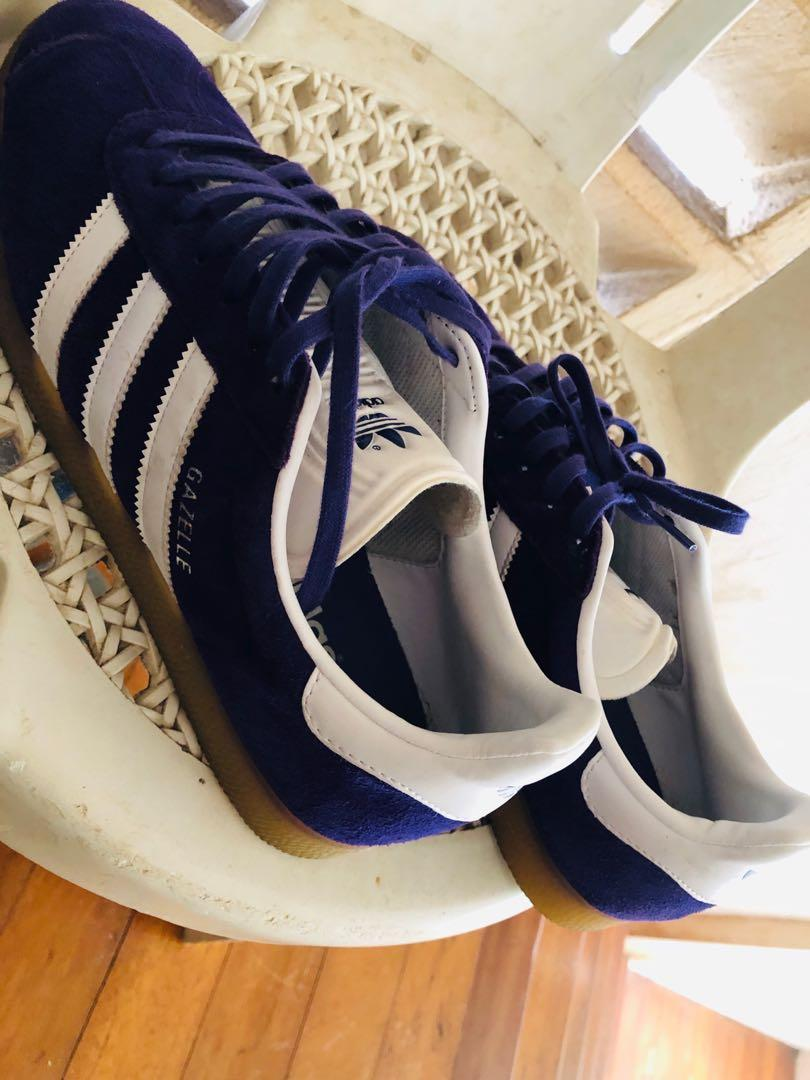 Adidas Gazelle Trainers Purple White, Originals, Suede, Ice ...
