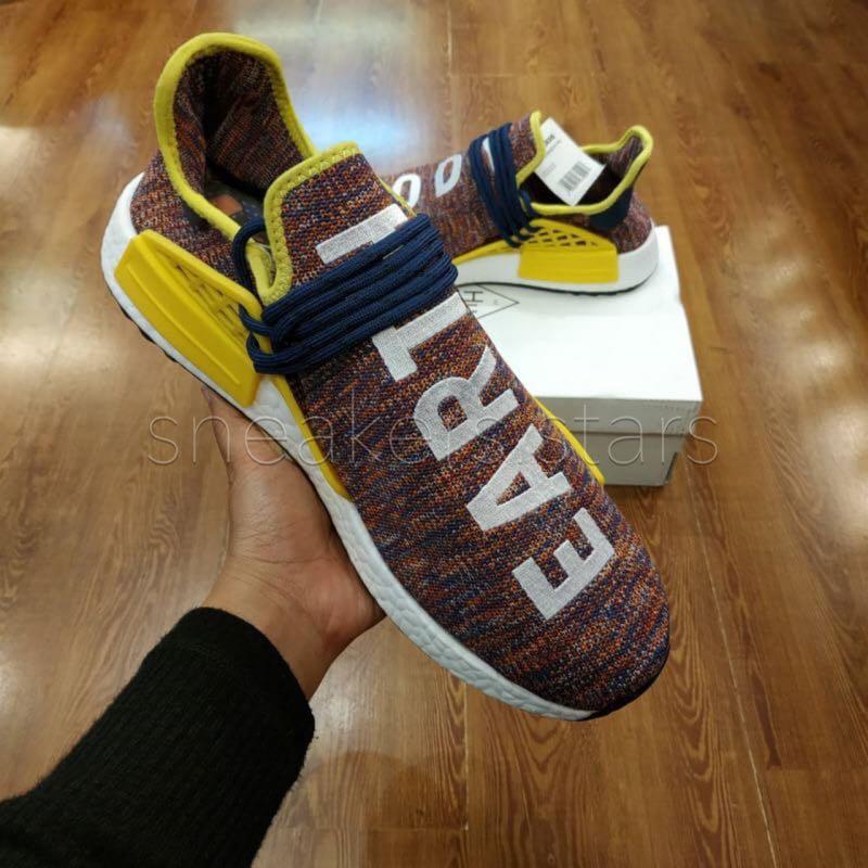 "e51b165177b26 Adidas NMD Human Race "" Body Earth "" x Pharrel William"