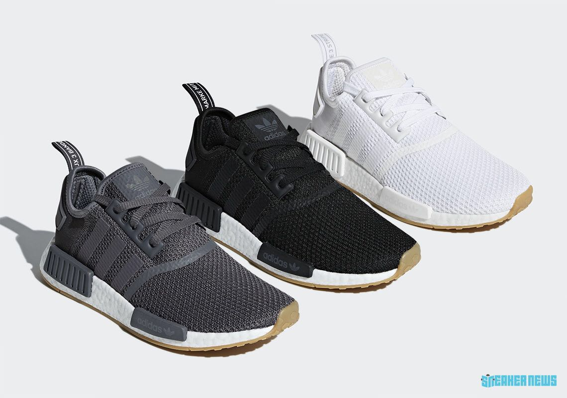 quality design 29a6f a9fdc Adidas NMD R1, Men u0027s Fashion, Footwear, Sneakers on Carousell
