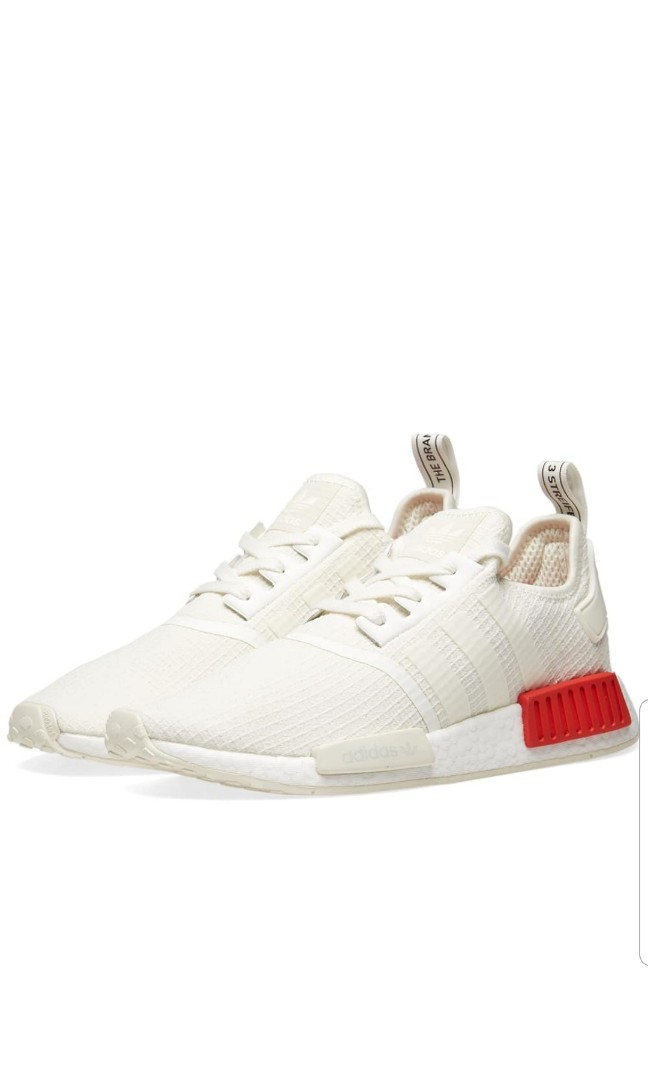 finest selection 76fd2 24094 Adidas NMD R1 Offwhite/LushRed