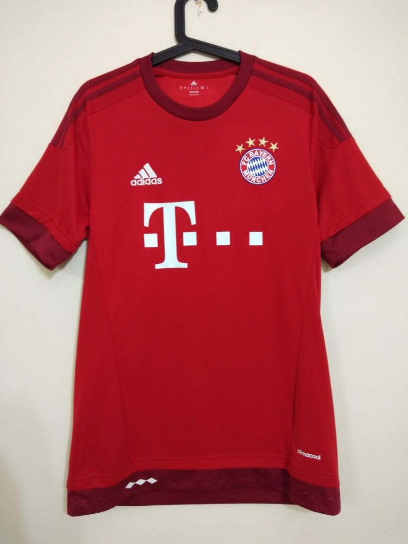 newest 37a2f 9164f Adidas Original Bayern Munich Jersey