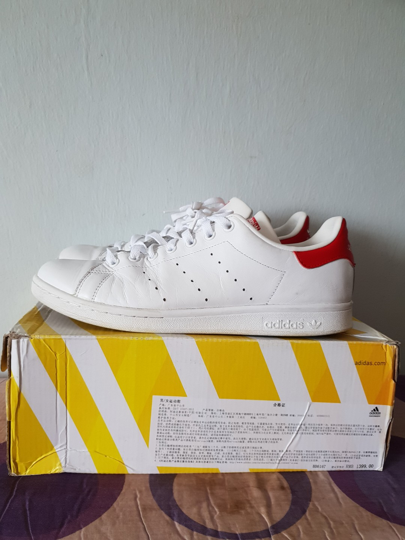 0a52a5ce15b7c adidas Originals Stan Smith Cf Mens Running Trainers Sneakers (UK 10 US  10.5 EU 44. photo photo .
