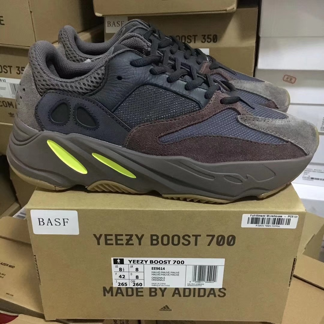 7bf7a13b357 Adidas Yeezy Boost 700 Mauve Sneakers for men