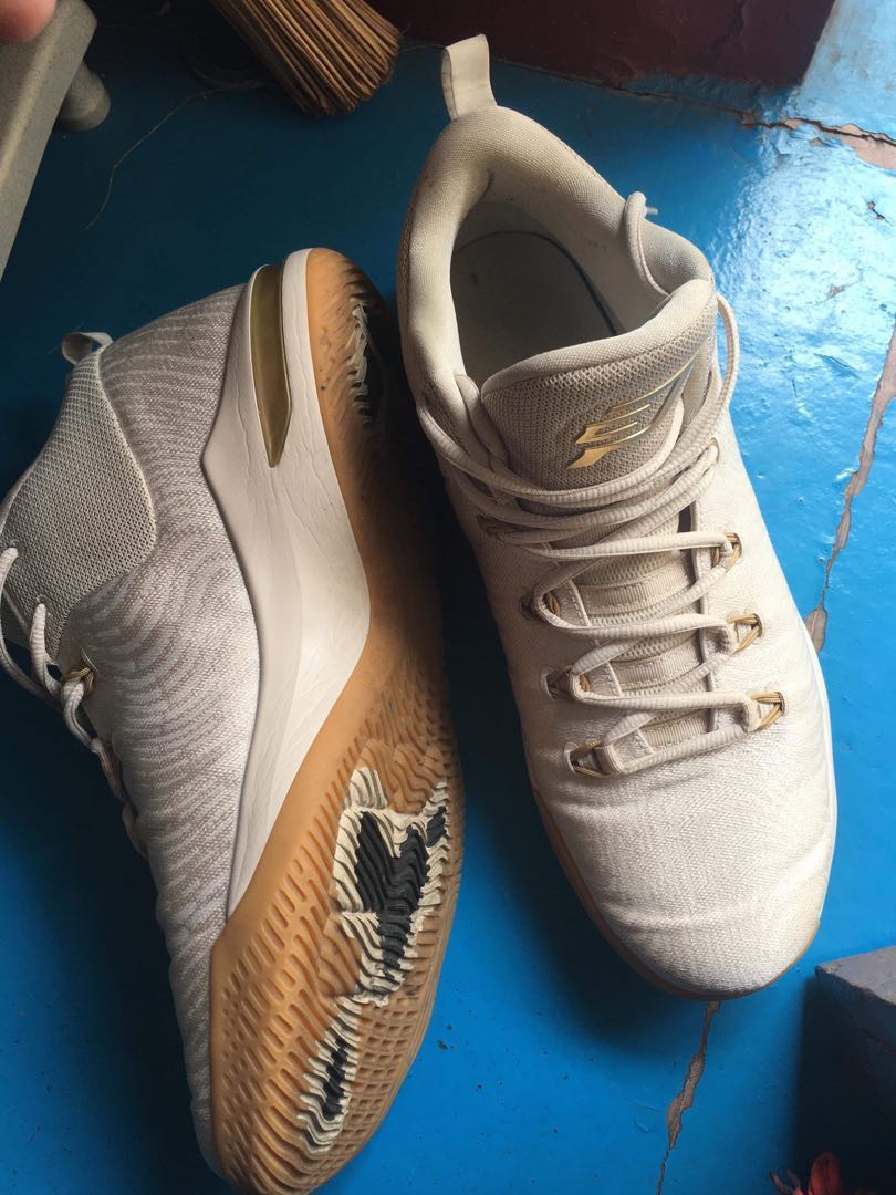 super popular 59296 a601f AIR JORDAN CP3 X AE basketball shoes light brown metallic gold ...