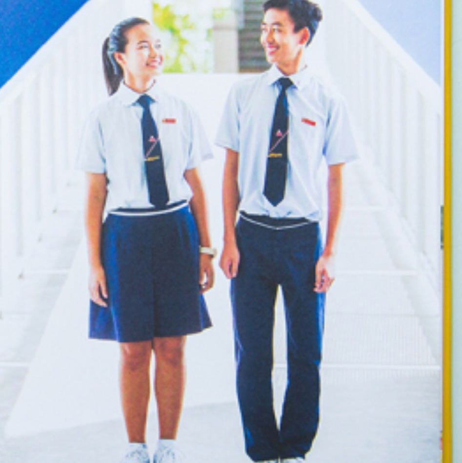 BRAND NEW! Manjusri Secondary School Uniforms for sale