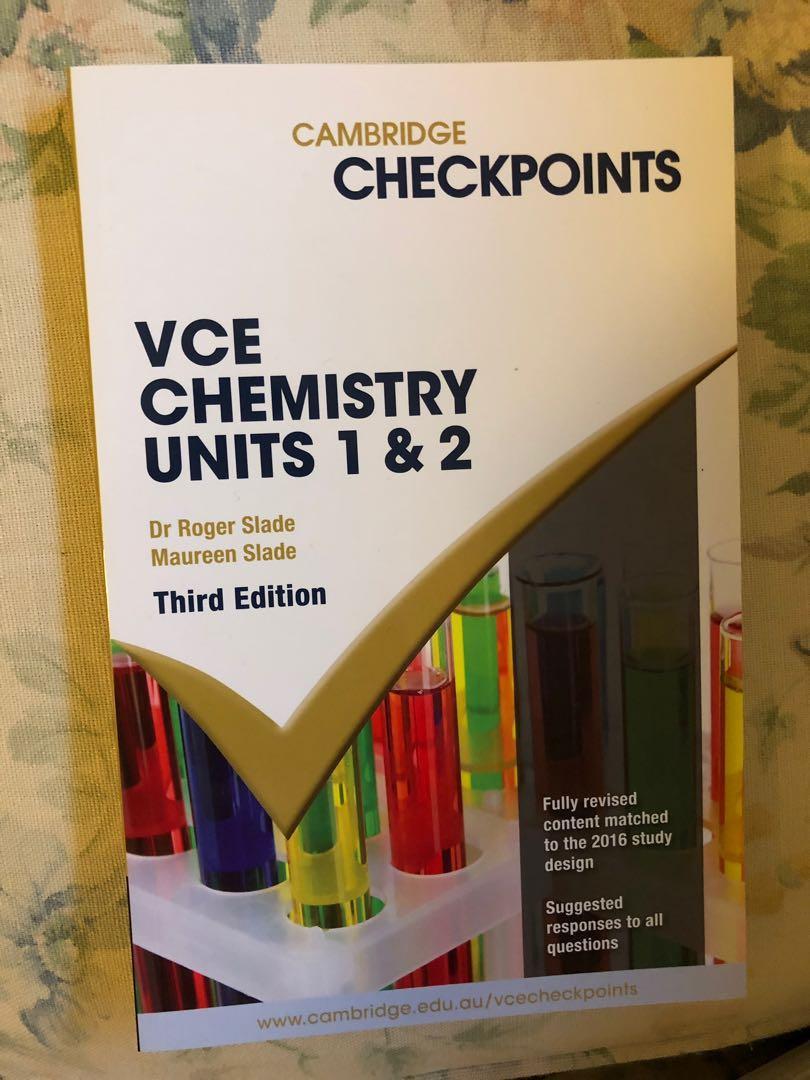 Cambridge Units 1/2 Chemistry Checkpoints
