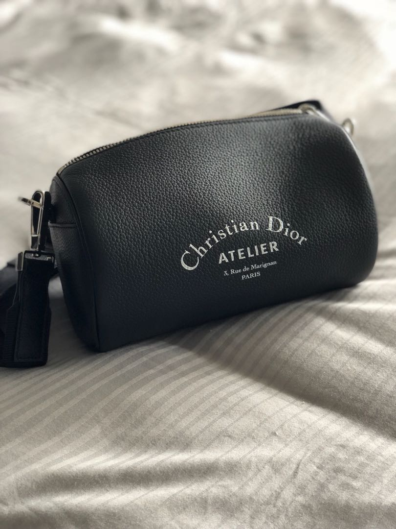 Christian Dior atelier roller pouch bag 169965b923cf2