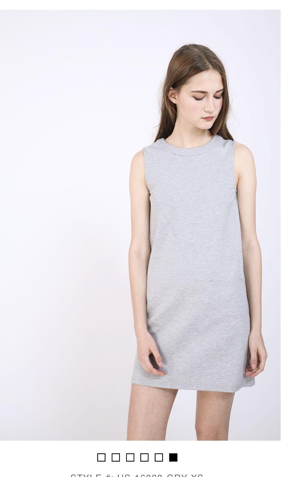 7fe64d0e67e3 Fenella dress grey XS RWB, Women's Fashion, Clothes, Dresses ...