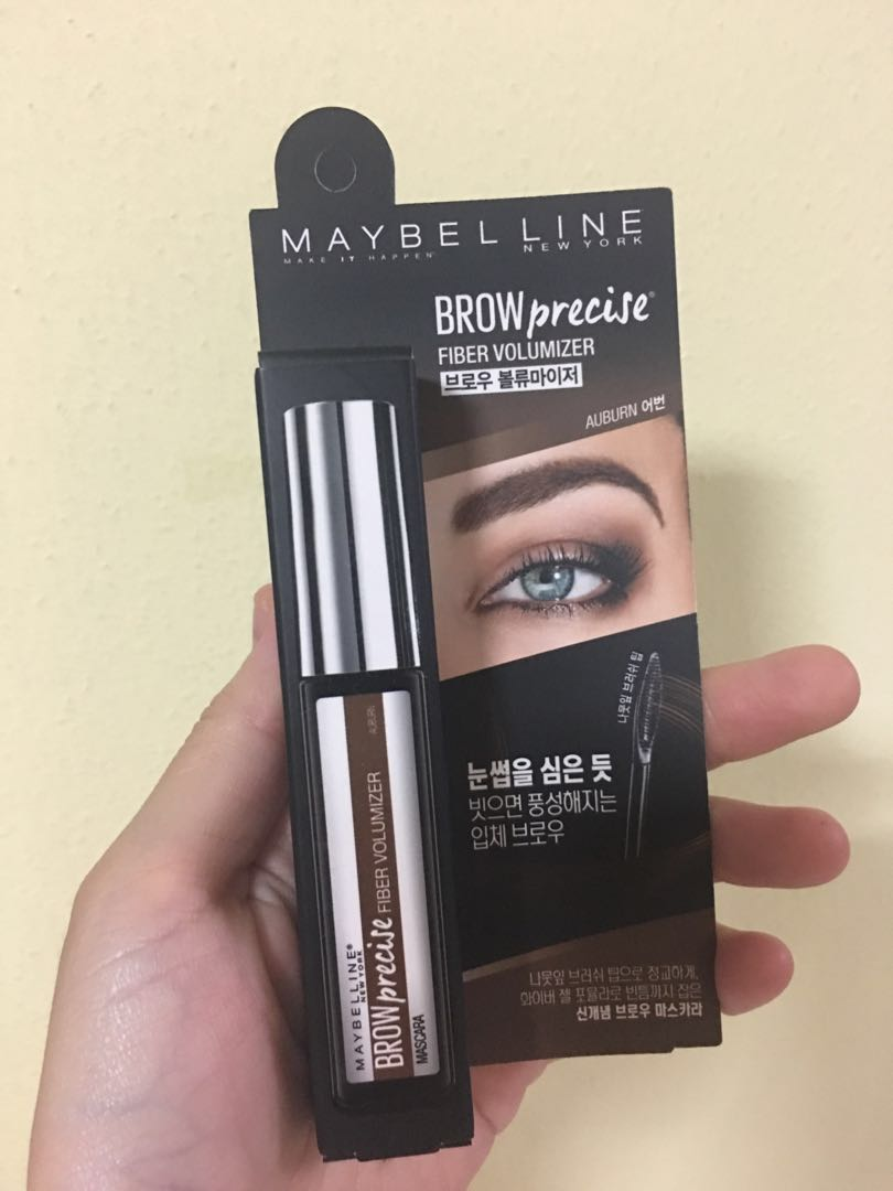 f2123acef8d Free normal mail! Instock authentic Maybelline korea browprecise ...