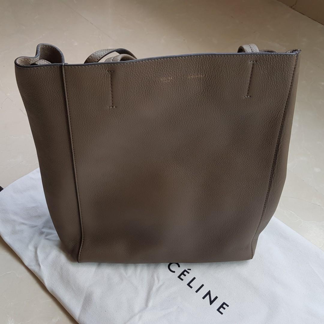 53d0995c0552 Genuine Celine Leather Tote Bag