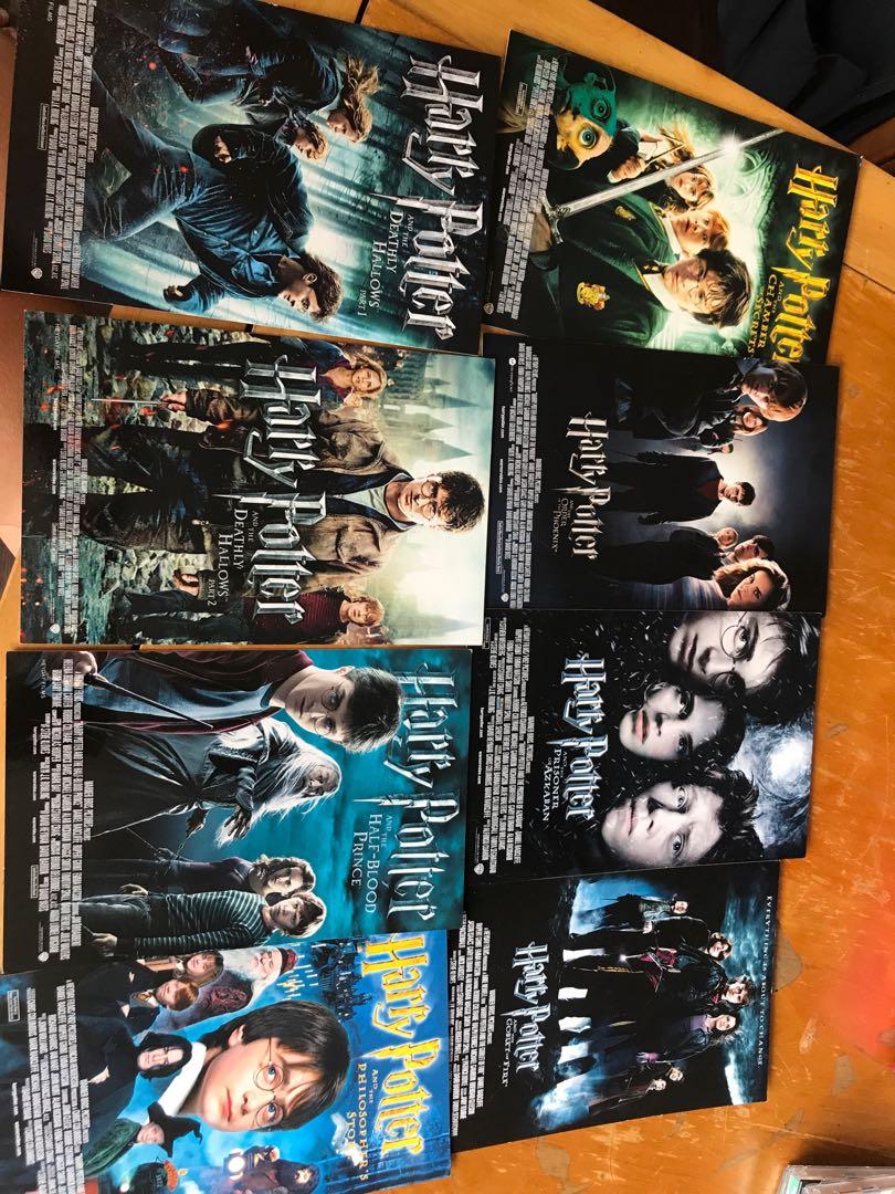 Harry Potter movie postcards
