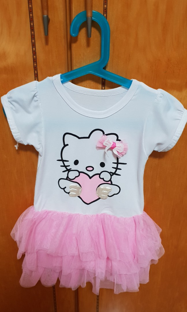 5899ff634 Hello Kitty dress, Babies & Kids, Girls' Apparel, 1 to 3 Years on Carousell