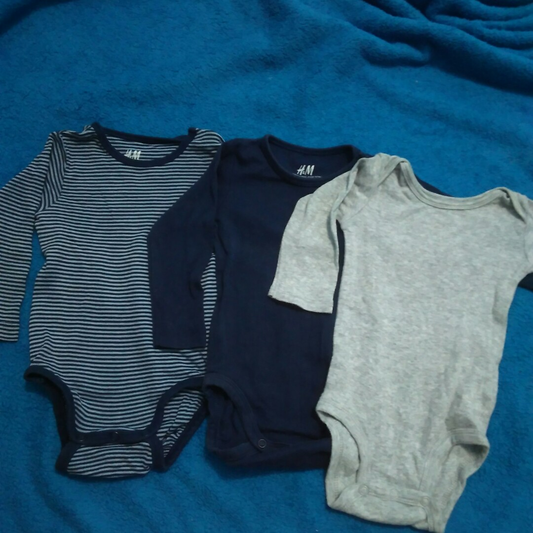 a90d7421a608 H m   Child of mine by carters preloved onesies