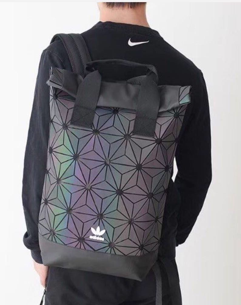 64a724acb814 Instock!! Adidas x Issey Miyake 3D Roll Up Unisex Casual Backpack ...