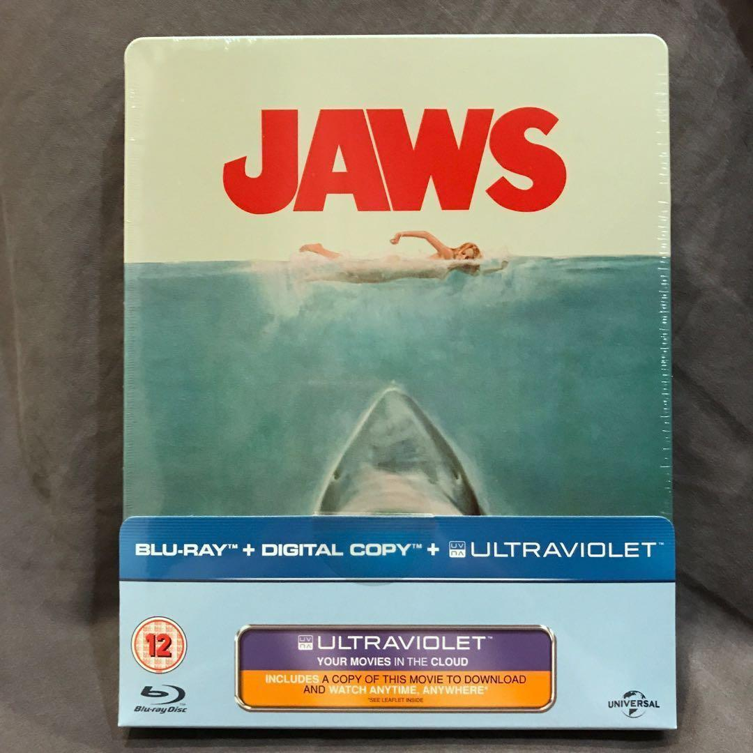 JAWS Blu-ray Steelbook UK Limited Edition Brand New Sealed OOP Bluray US$86   S$119