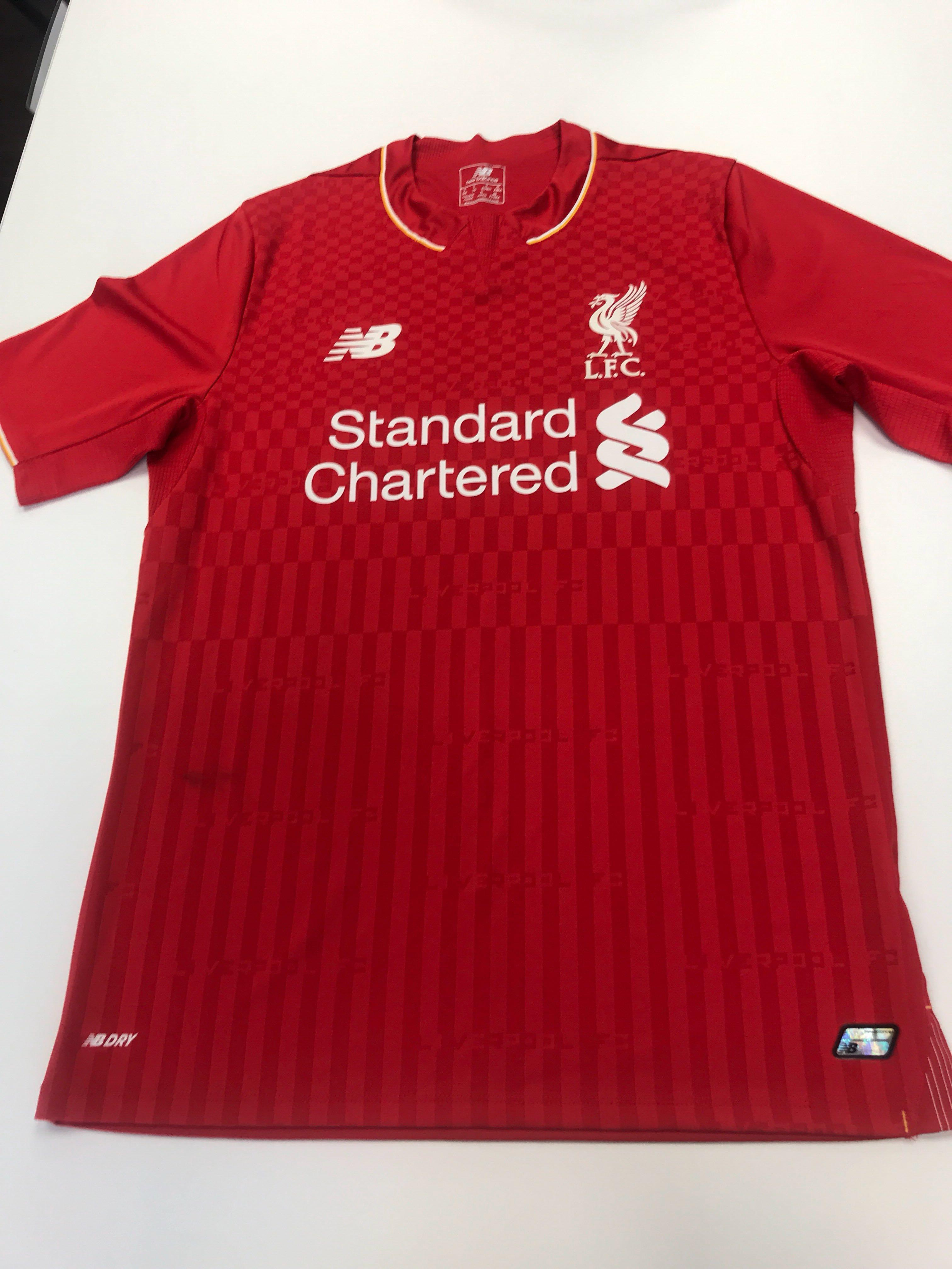the latest 66727 f2d03 LFC Jersey , Sports, Sports Apparel on Carousell