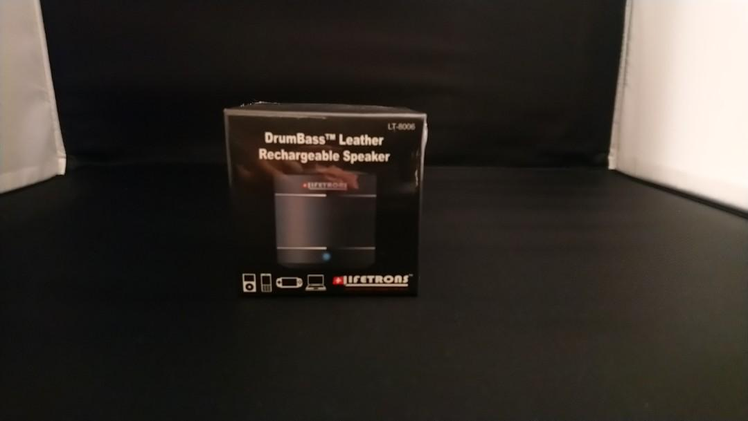 Lifetrons DrumBass Rechargeable Speaker