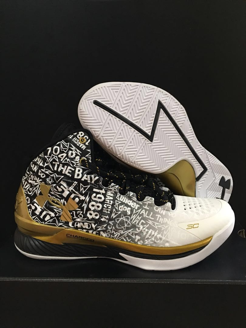 9c631dbf0d15 LIMITED EDITION!! Under Armour Curry 1 Back2Back MVP