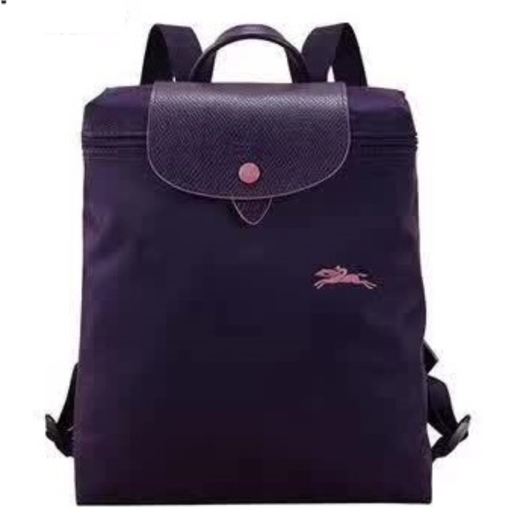 39a03e819c9ab Longchamp 1699 Club Purple Backpack