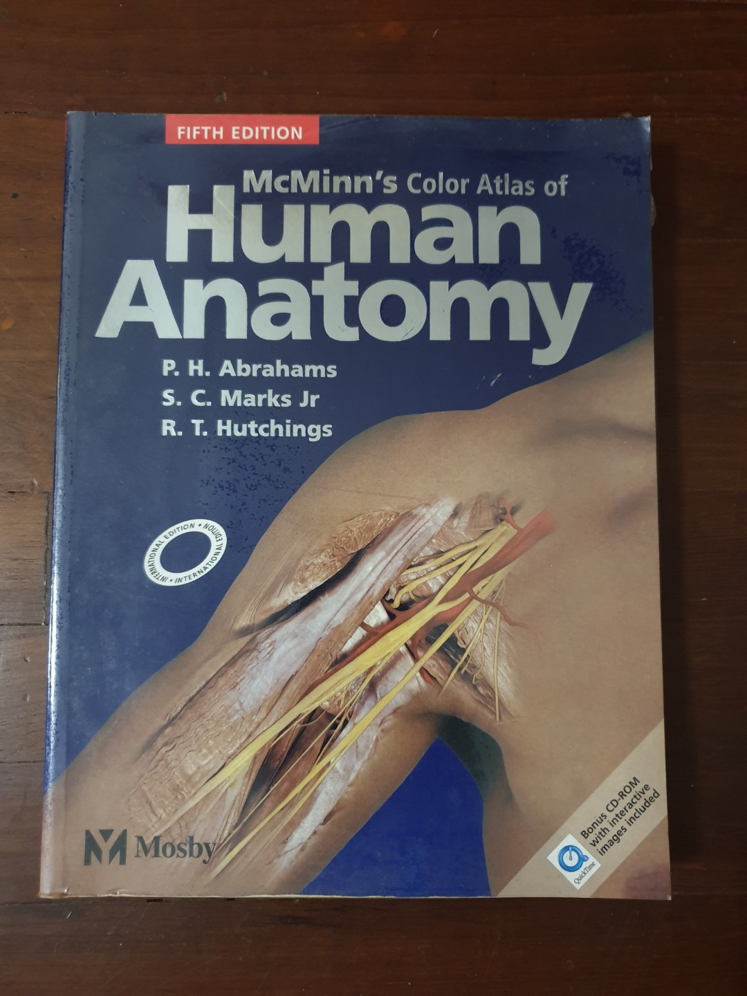 Mcminns Color Atlas Of Human Anatomy Fifth Edition Books