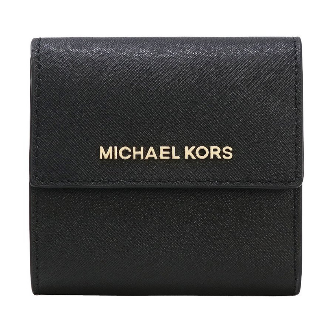 6ce6d7a8751012 Michael Kors Jet Set Travel Small Carryall Wallet Black, Luxury, Bags &  Wallets, Wallets on Carousell