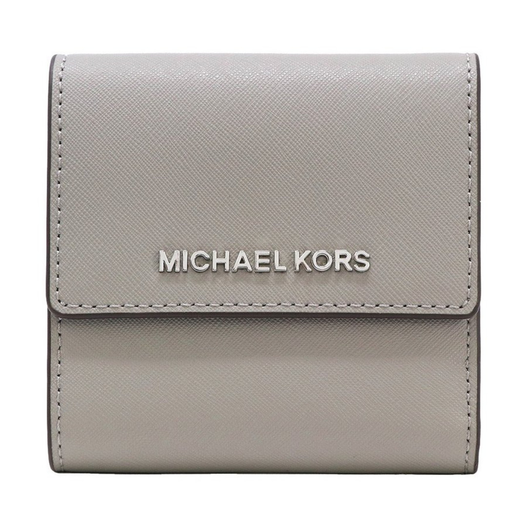 acc74a047428 Michael Kors Jet Set Travel Small Carryall Wallet Grey, Luxury, Bags ...