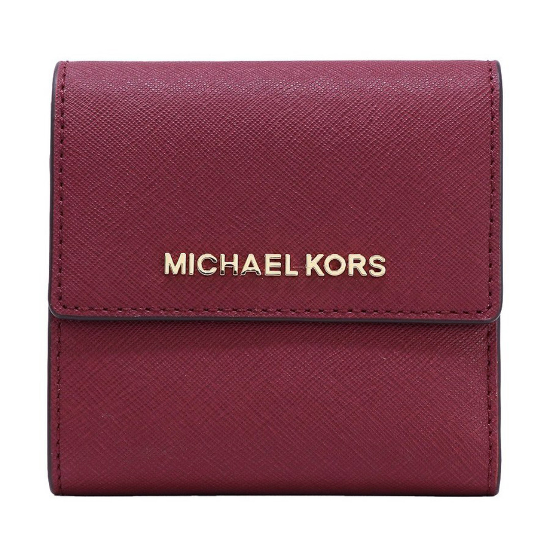 b8d82273d153 Michael Kors Jet Set Travel Small Carryall Wallet Mulberry, Luxury ...