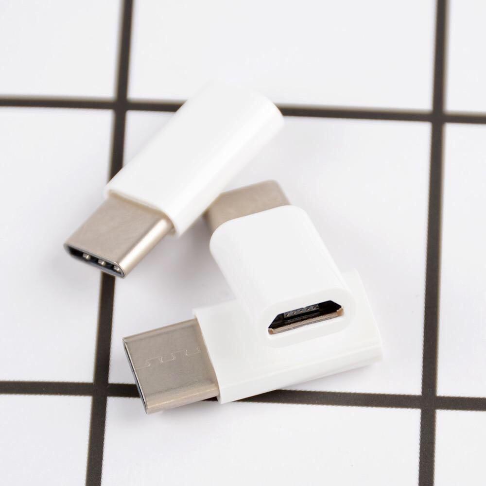 Miiqnus 5 pcs USB 3.1 Type C Male to Micro USB Female Adapter Connector USB-C