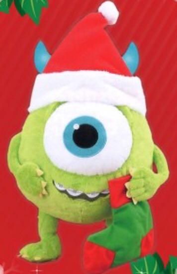 e2c3e83bdc3f1 Mike Wazowski - Mega Jumbo Christmas Style Plushy Chibikko Ver