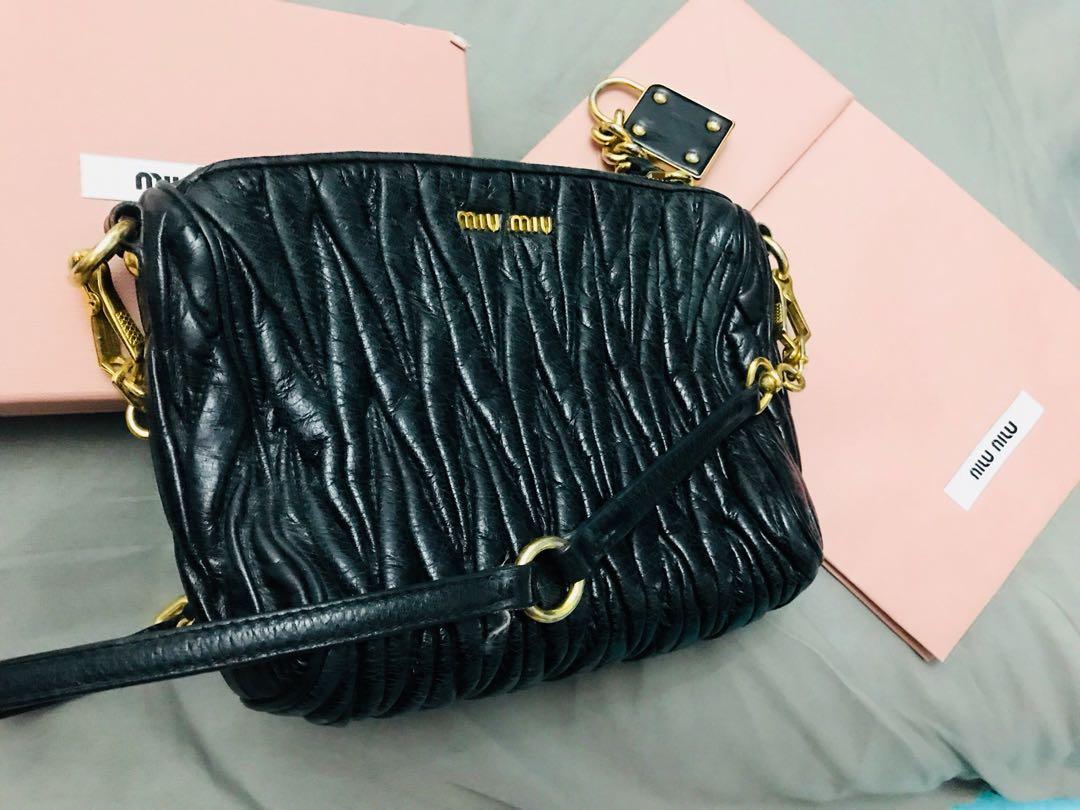 91cc0219281e Miu Miu Matelasse Mini Bag