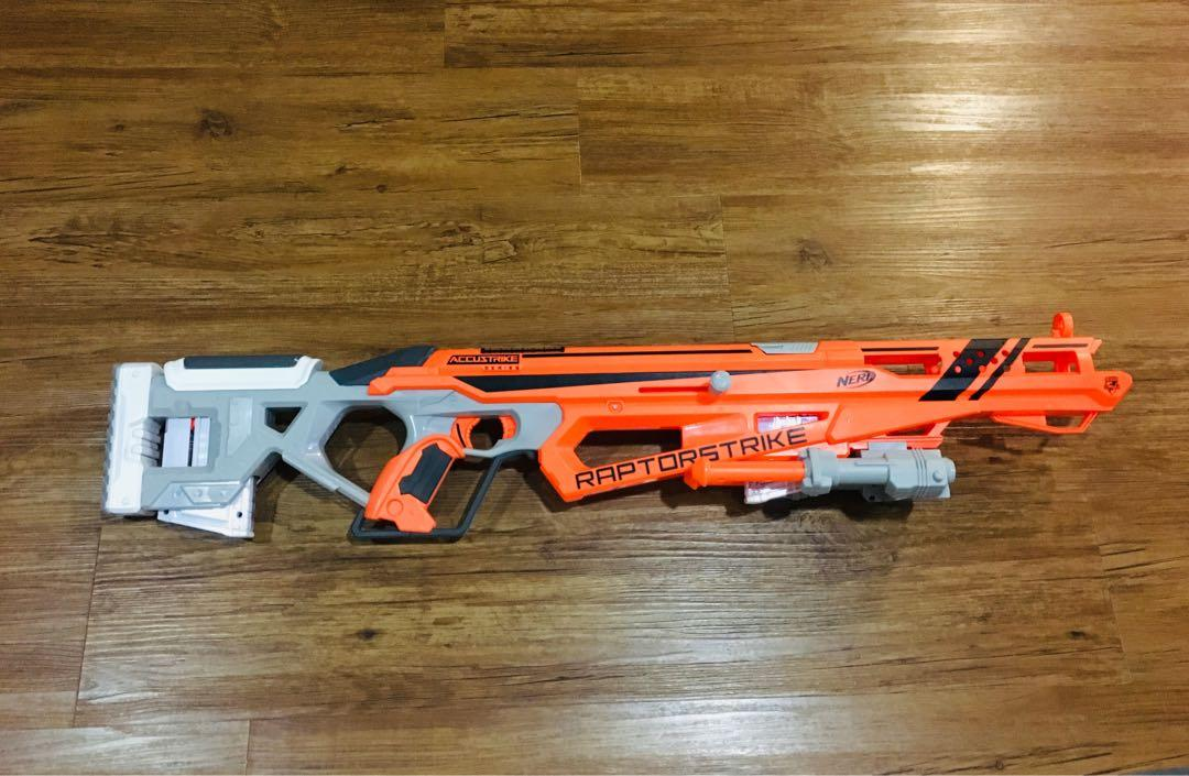 Nerf Raptorstrike Modded, Toys & Games, Others on Carousell