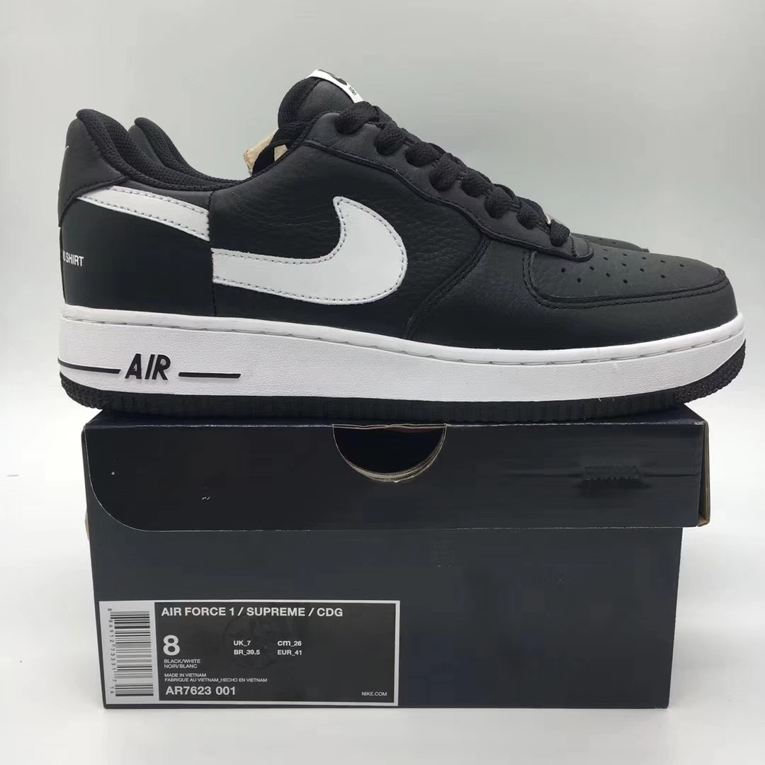 cdfa025414e1 Nike Air Force Supreme x CDG Sneakers