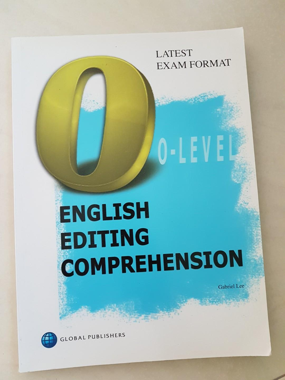O level English Editing Comprehension
