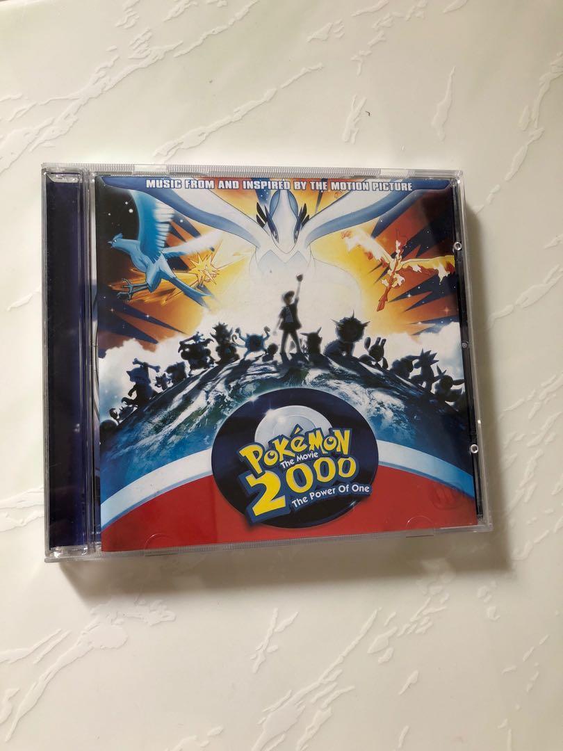 Pokemon The Movie 2000 Soundtrack Music Media Cds Dvds