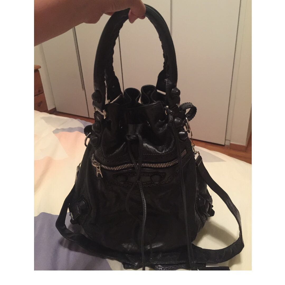 3743f7bd3e Pre Loved Large Authentic Balenciaga Pompon Sale! From  800