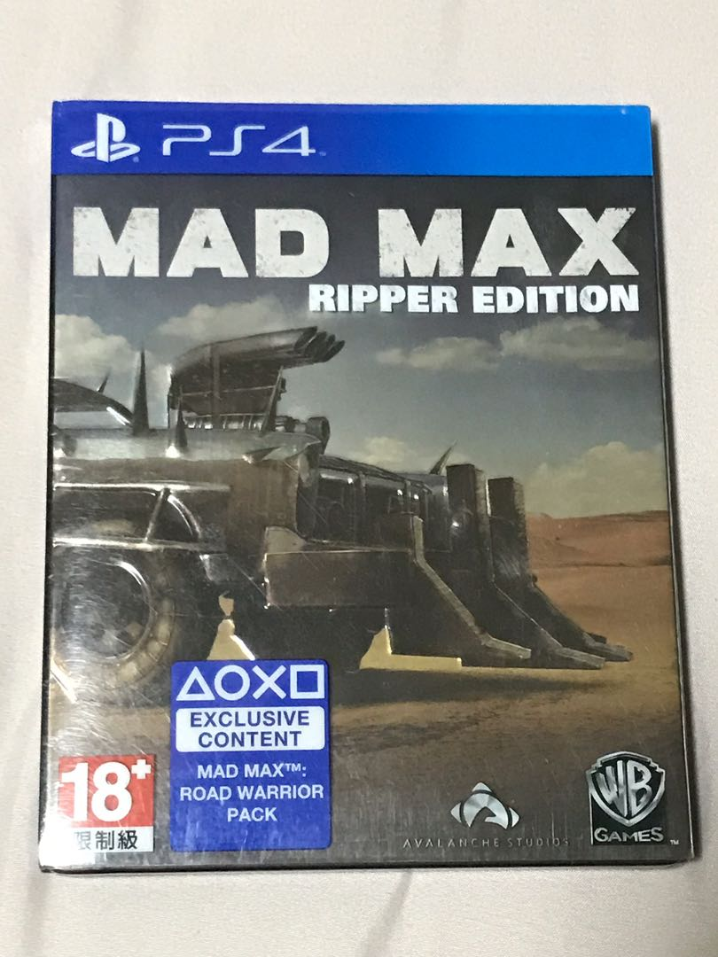 PS4 Game - Mad Max Ripper Edition
